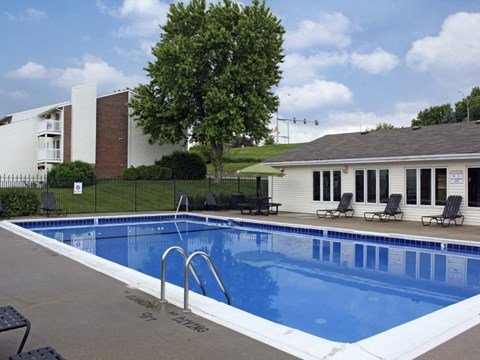 Swimming Pool at Georgetowne in Omaha, NE
