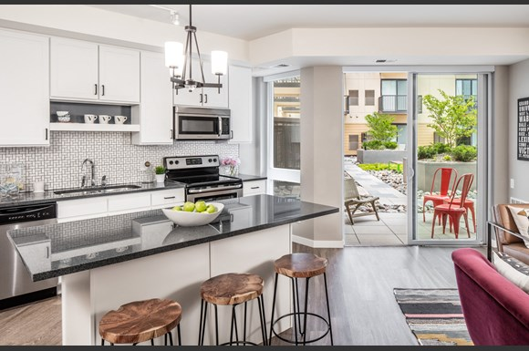 Apartment Kitchen Vintage
