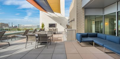 Innova Living Cleveland Apartments Sky Deck