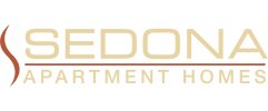 Sedona Apartments Logo, Moreno Valley