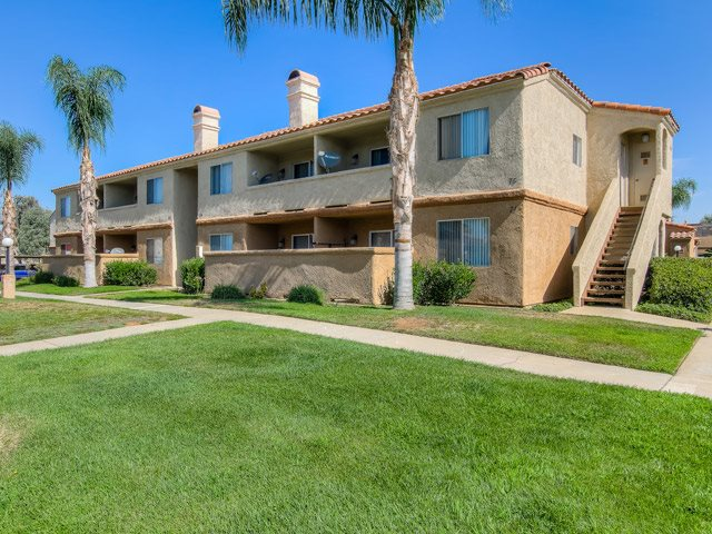 Private Balconies and Patios at Sedona Apartment Homes, Moreno Valley, California