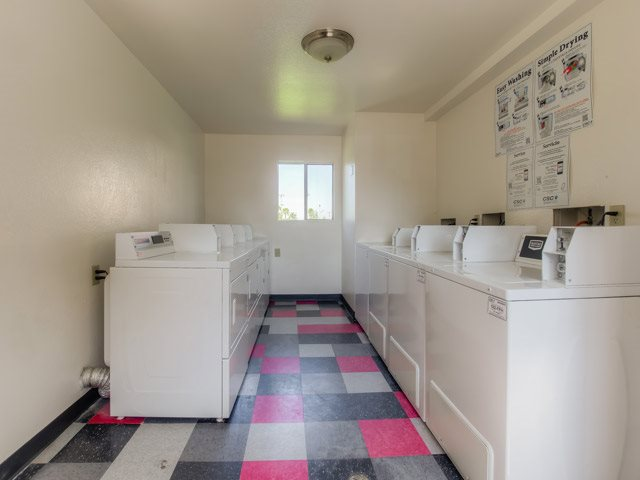 On-Site Laundry Facility at Sedona Apartment Homes, 25106 Fir Ave, CA
