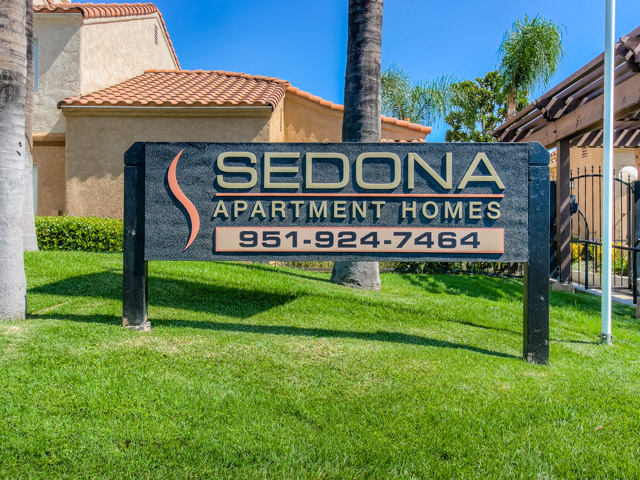 Gated Entrance At Sedona Apartment Homes, Moreno Valley, CA