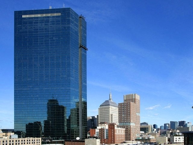 Photo of the view: Copley Square's skyline