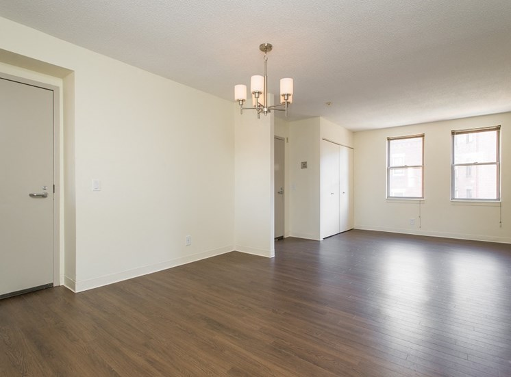 Townhomes at Tent City Apartments Living / Dining Room
