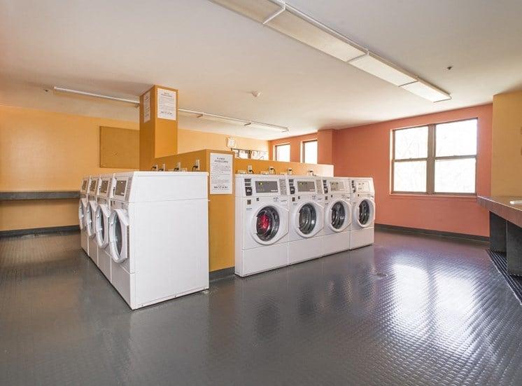 Onsite laundry facilities.