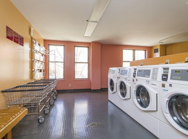 Onsite laundry facilities