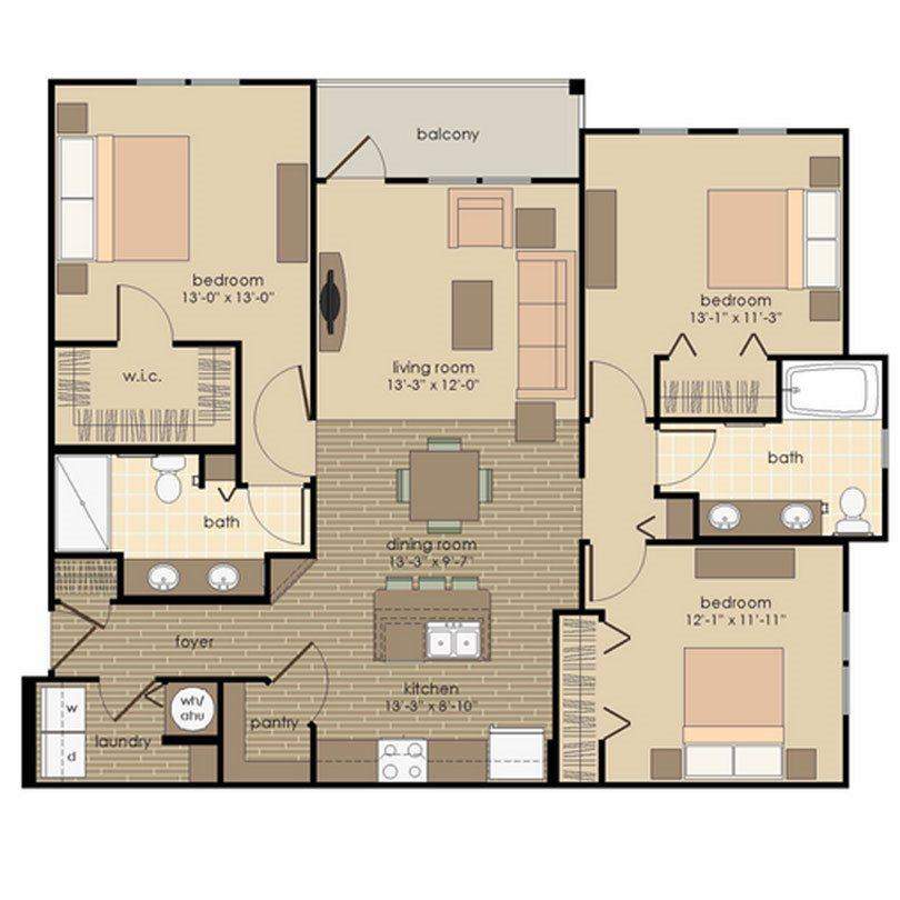 The Manhattan Floor Plan 5