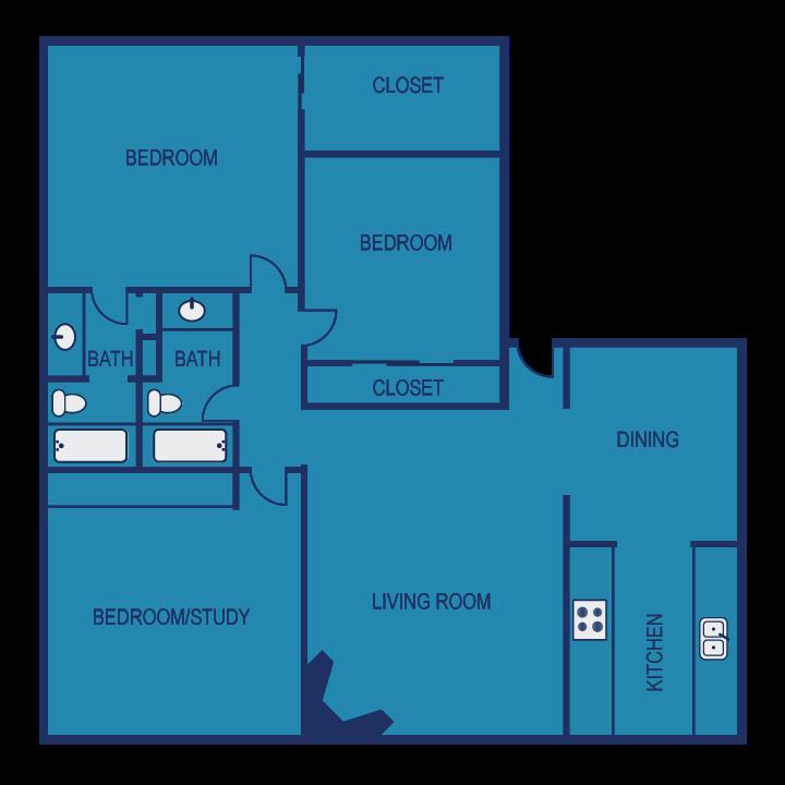 E2 Floor Plan 13