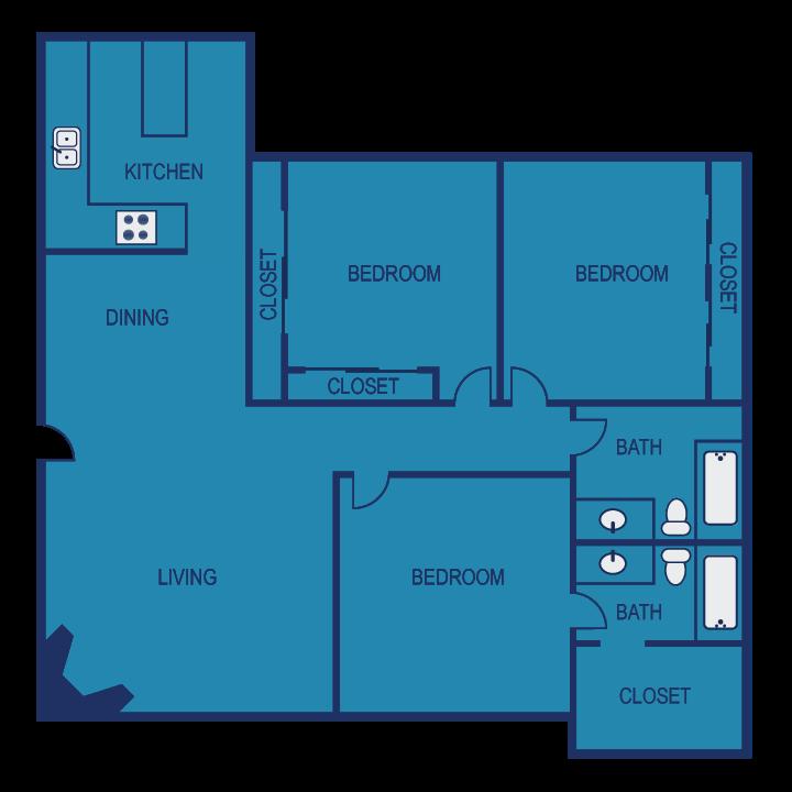 F1 Floor Plan 15