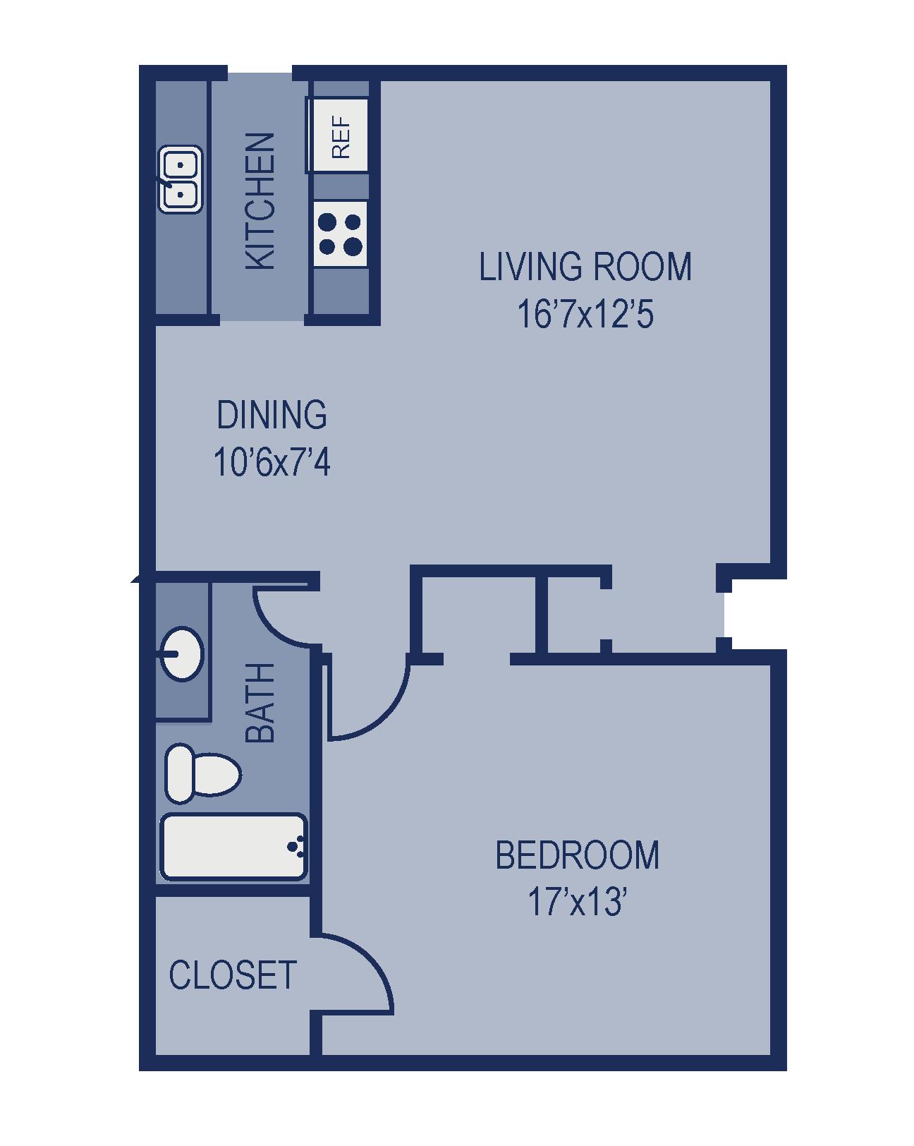 A1U Floor Plan 4