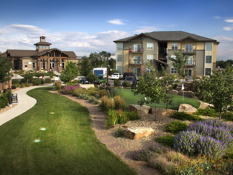 Exterior at The Greens at Van de Water Apartments in Loveland, CO