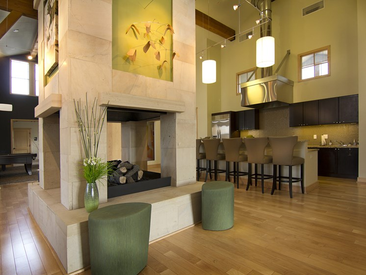Clubhouse at The Greens at Van de Water Apartments in Loveland, CO