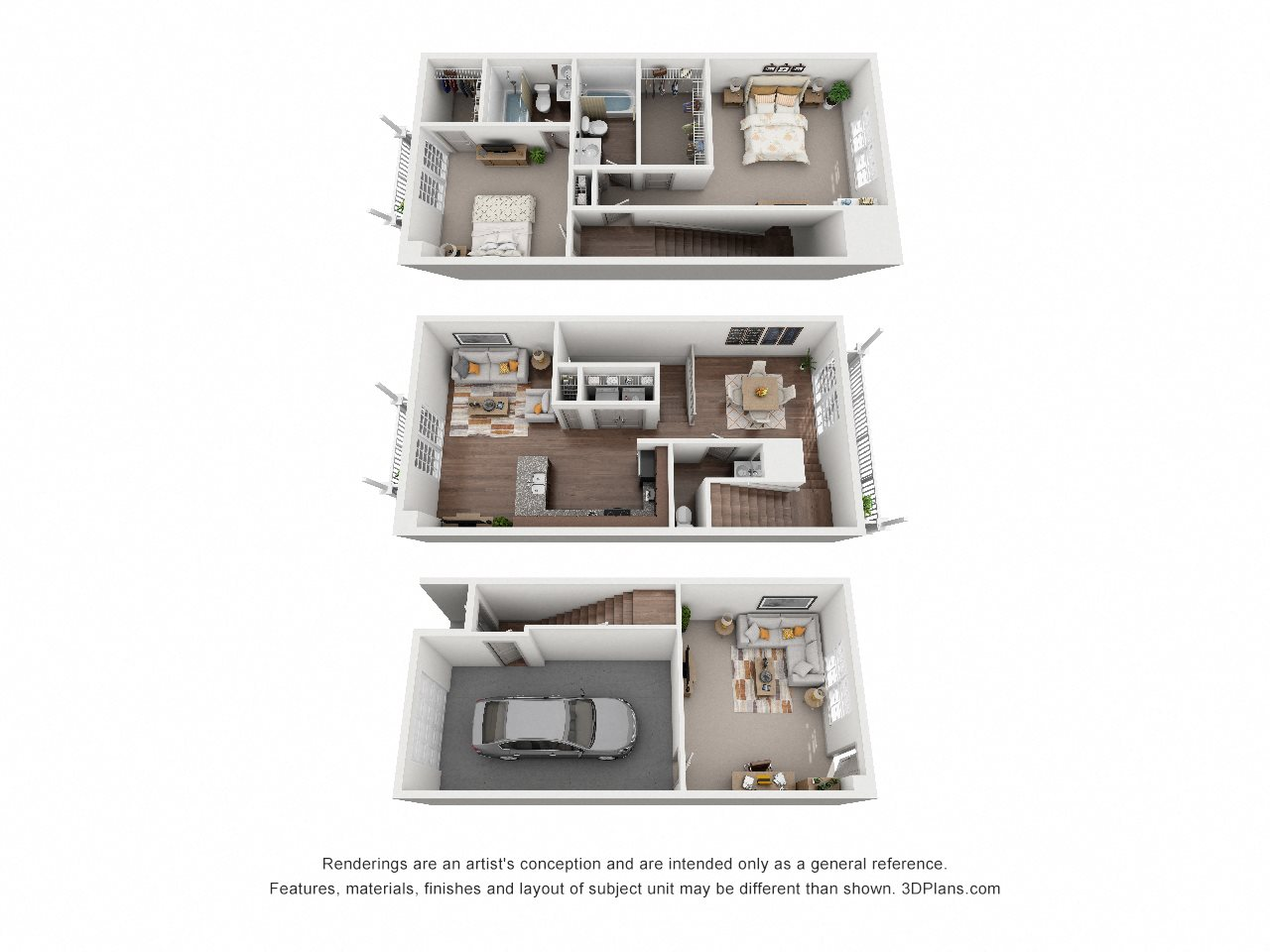 B1 The Boca Floor Plan 1