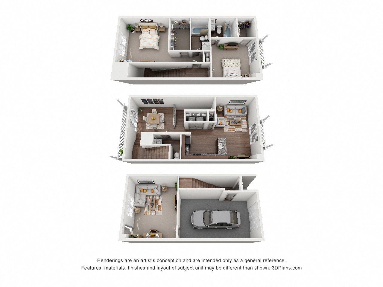 B2 The Pompano Floor Plan 2