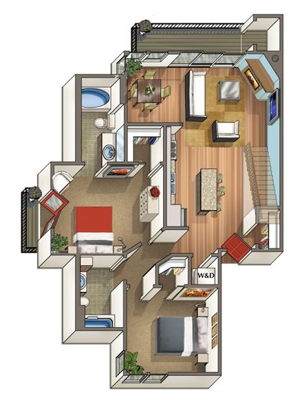 Carbon Floor Plan 7