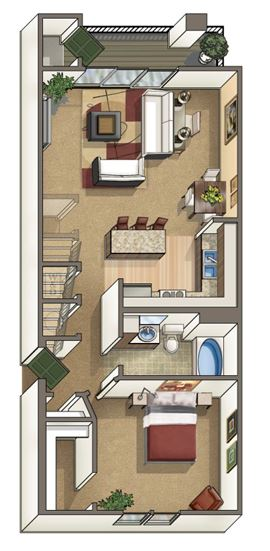 Crestone Floor Plan 3