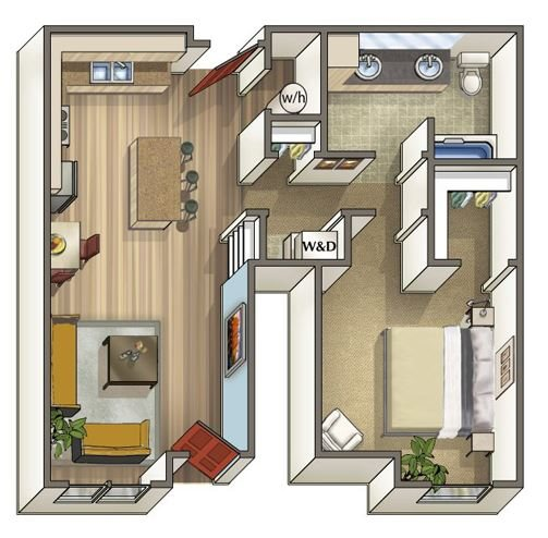 Horseshoe Floor Plan 2