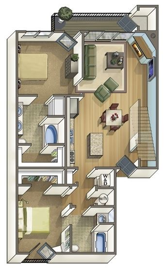 Pikes Floor Plan 8