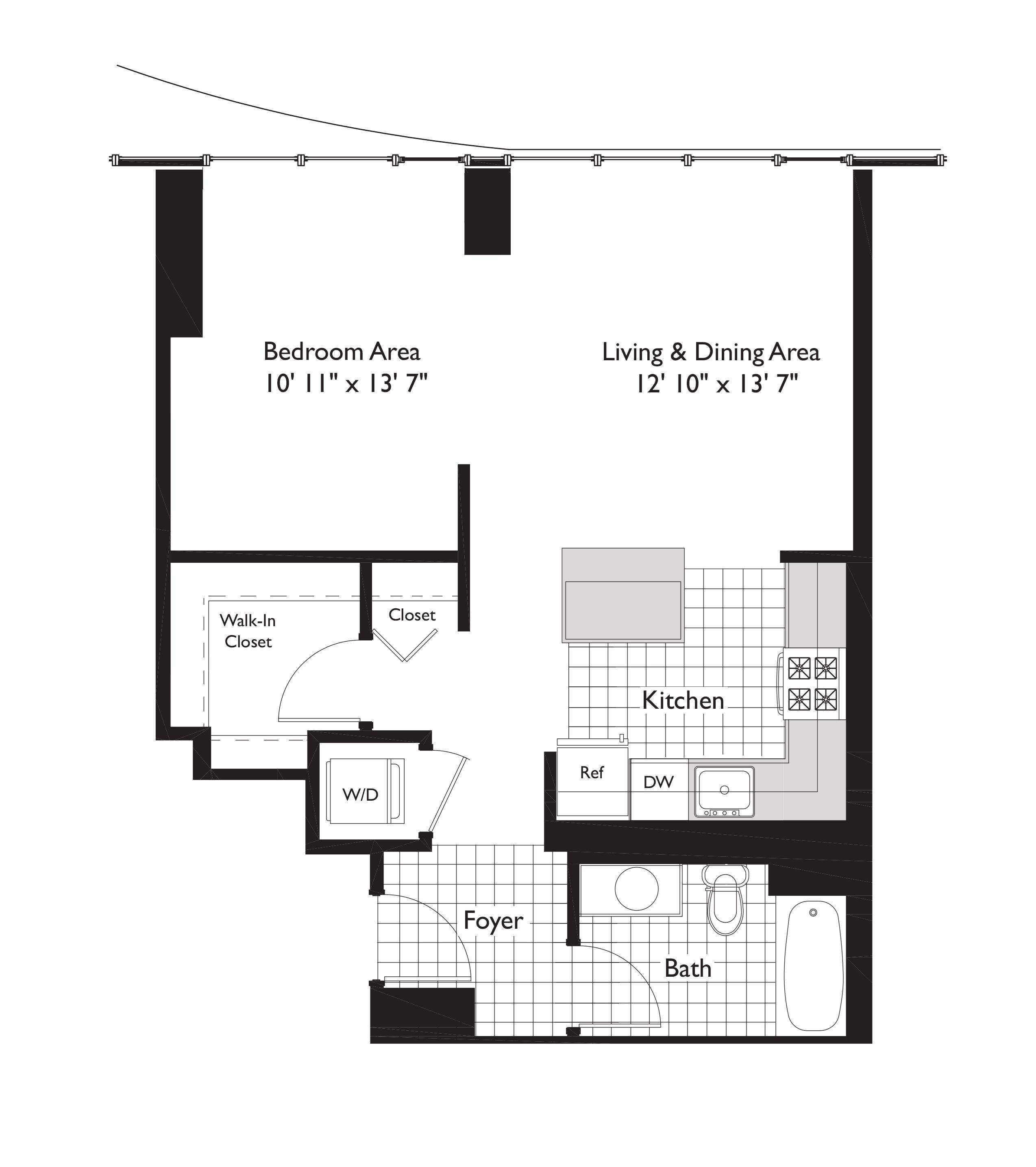 Studio, 1 & 2 Bedroom Apartments In Lakeshore East