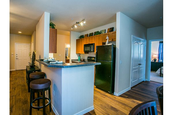 Image of the islands in our spacious kitchens at Waterford at Superstition Springs in east mesa, az