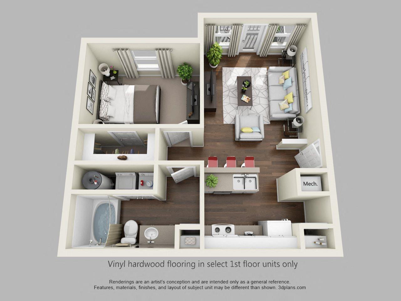 The Fairway Floor Plan 1