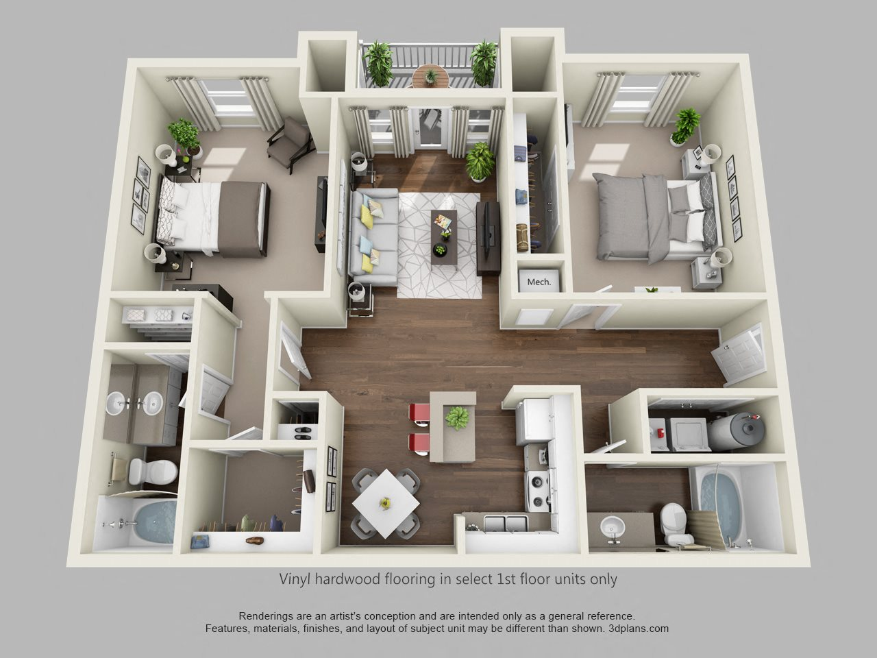 The Eagle Floor Plan 2