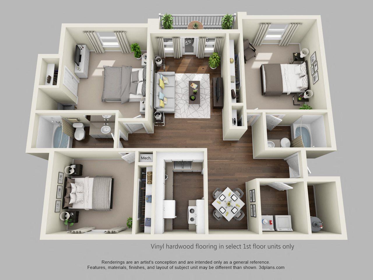 The Albatross Floor Plan 3