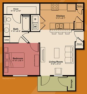 one bedroom apartments - Quail Run Apartments | Apartments in Zionsville, IN