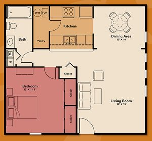 1 bedroom -bedroom apartment rental - Quail Run Apartments | Apartments in Zionsville, IN
