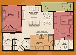 2 bedroom apartment rental - Quail Run Apartments | Apartments in Zionsville, IN