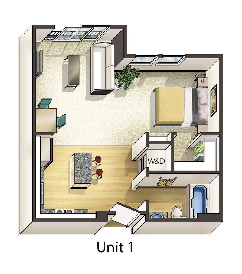 Cottonwood Floor Plan 1