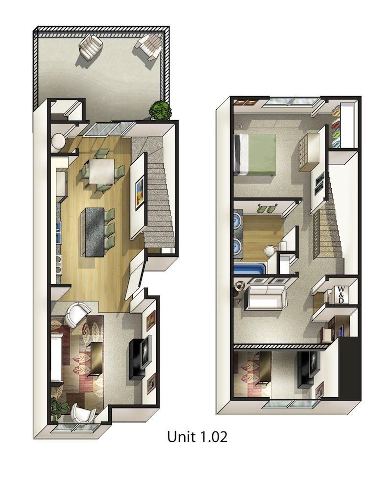 Pine Floor Plan 6