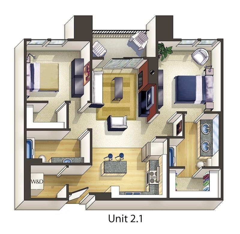 Willow Floor Plan 10