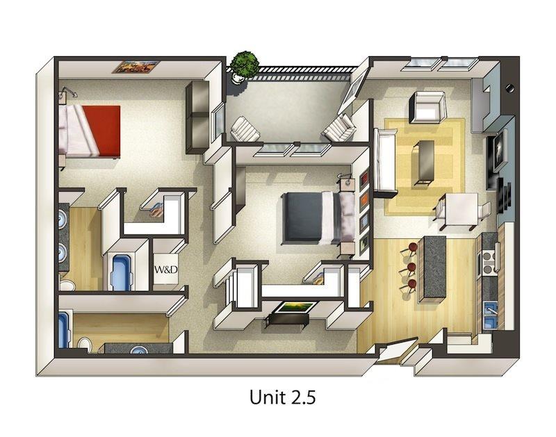 Mulberry Floor Plan 13