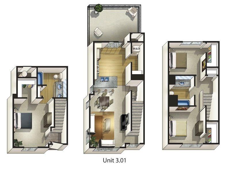Birch Floor Plan 16