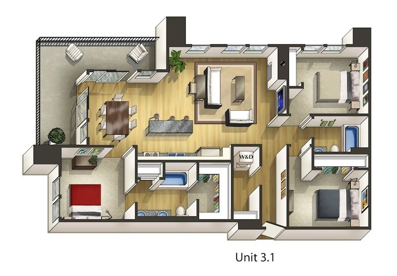 Holly Floor Plan 17