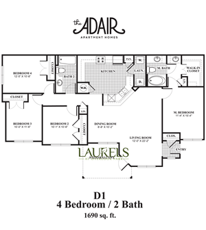 Four Bed Two Bath
