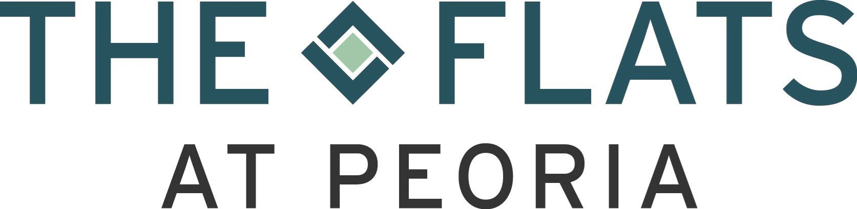 the flats at peoria logo