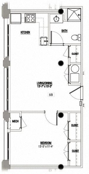 1 Bedroom Type 4