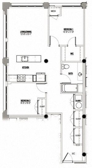 2 Bedroom Type 5