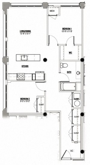2 Bedroom Type 6