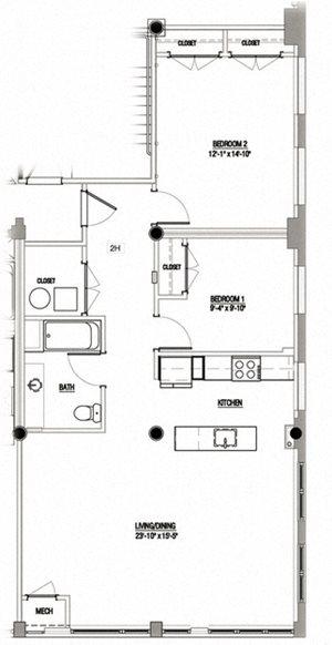 2 Bedroom Type 7