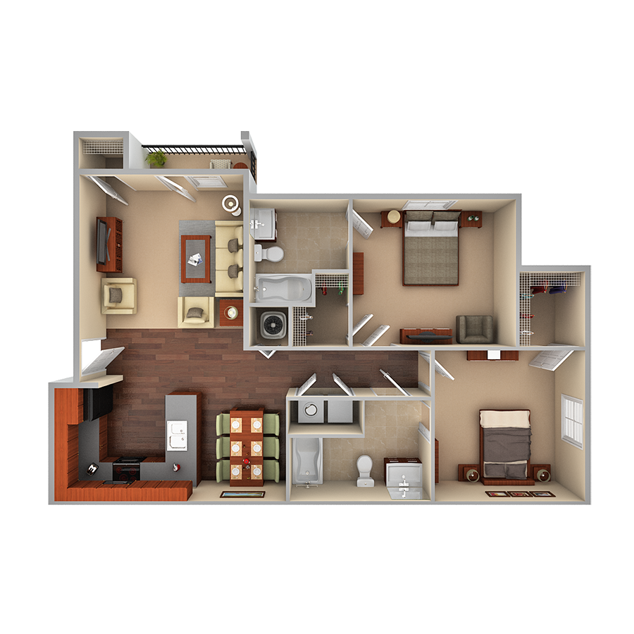 Floor Plans Of Ardmore King's Grant In Charlotte, NC