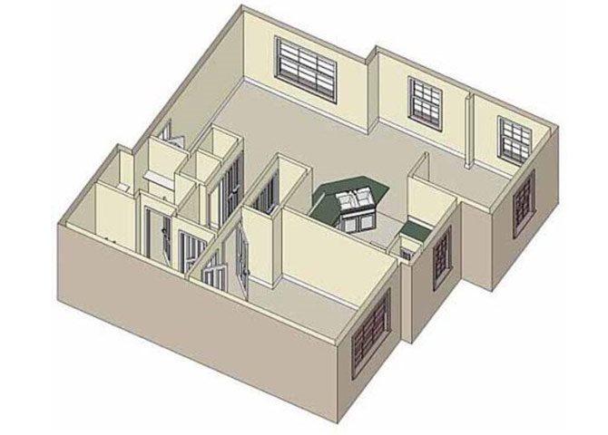 Escape 1x1 Floor Plan 2
