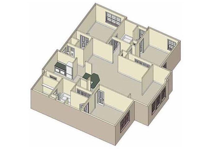 Harmony 3x2 Floor Plan 7