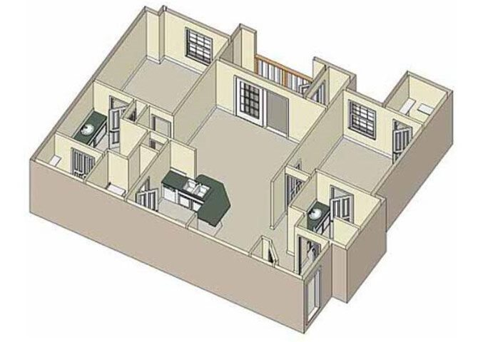 Unity 2x2 Floor Plan 6
