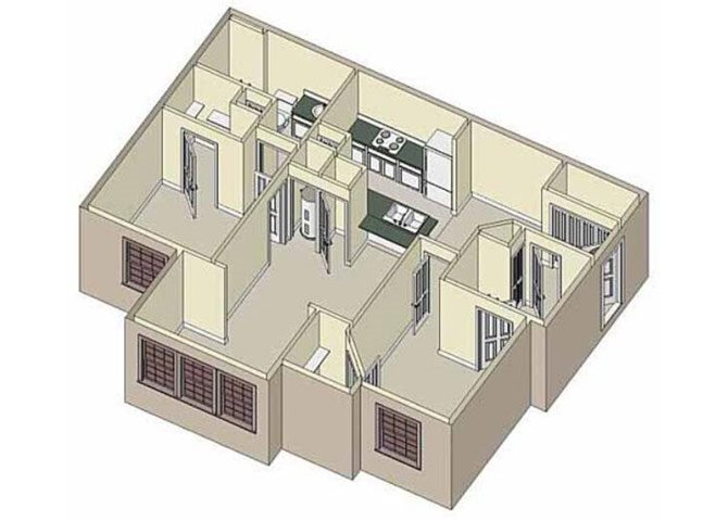 Inspiration 2x2 Floor Plan 5