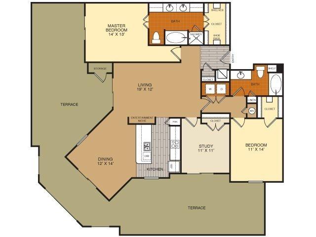C1C Floor Plan 19