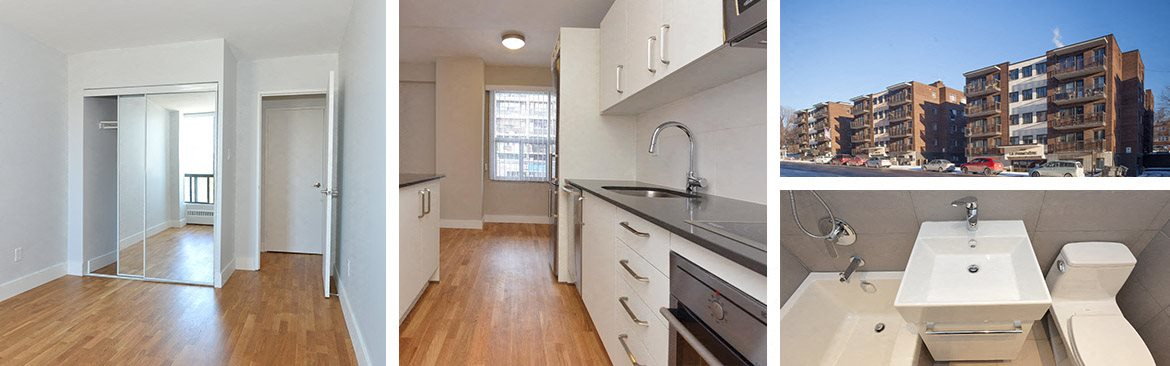 Downtown Montreal location. Akelius Apartment Rentals